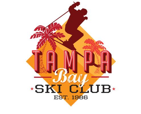 Tampa Bay Ski Club Logo Design